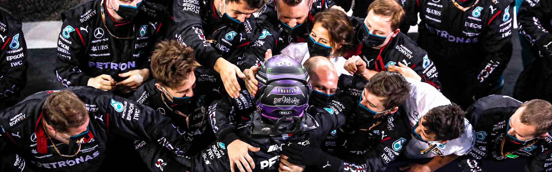 Lewis Hamilton wins the Bahrain Grand Prix!
