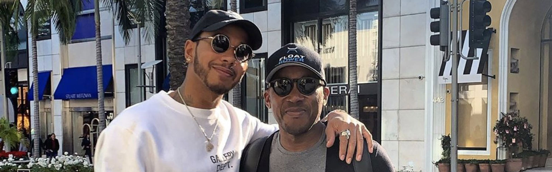 Who is Lewis Hamilton's father Anthony?