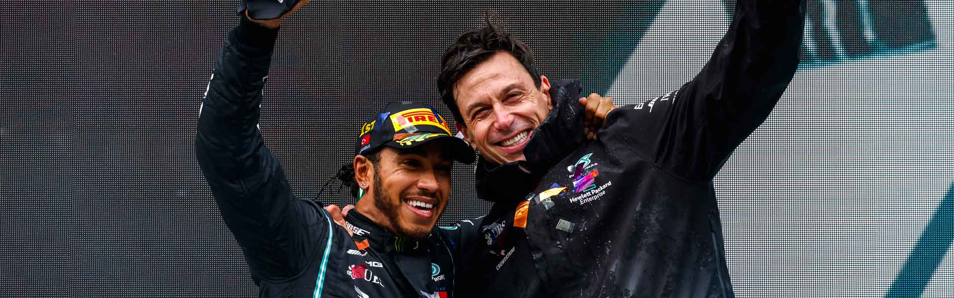 BREAKING: Hamilton will remain with Mercedes until 2023!