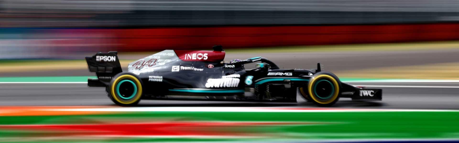 Bottas in P3, Hamilton out of the Italian GP!
